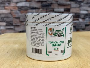 CBD topical analgesic Balm full spectrum