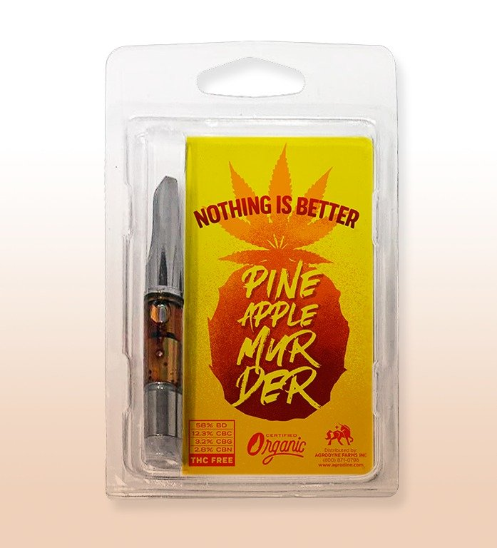 Pineapple Murder CBD Distillate Cart